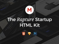 The Rapture Startup HTML Kit