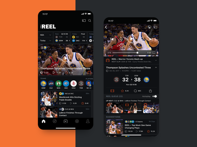 The Reel - Sports Entertainment App