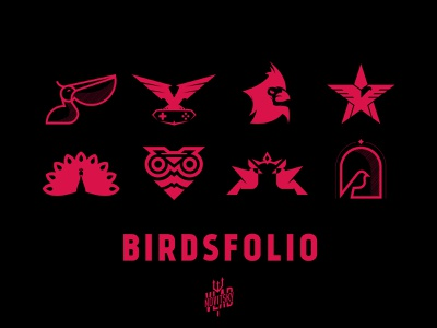 New project on Behance behance bird portfolio emblem illustration logotype logo graphic design branding