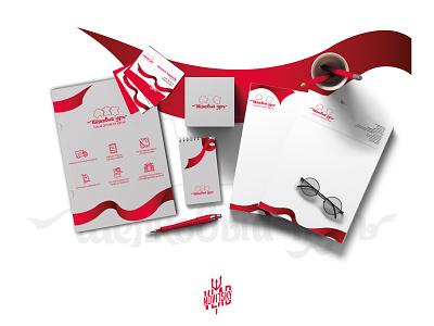 "Сorporate identity of ""Silk Road"" visual identity business card form way silk corporate identity identity emblem logotype logo branding graphic design"