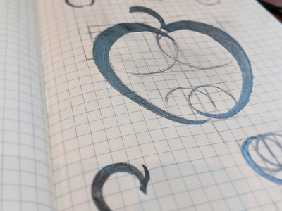 Chris logo pencil experiment branding sketching cider beer alcohol