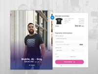 Daily UI Challenge - Checkout uiux ui design app website web design user interface user experience ux ui uxdesign
