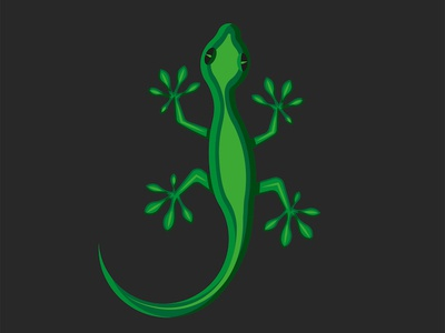 Gecko logo green lizard creative animal vector illustration character design shape reptile green animal illustration animal logo illustration emblem logo logo design green lizard lizard lizard logo gecko logo gecko illustration gecko