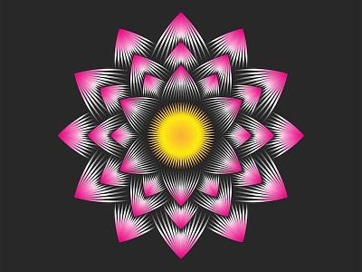 Lotus flower is an Buddhism symbol of purity water lily gradient design linear design tattoo design feminine logo vector emblem flower illustration line art lineart logo design yoga logo spa logo flower logo lotus logo lotus flower