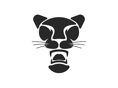 Black panther logo cat illustration print design emblem animal illustration animal character sports logo illustration agressive negative space logo sharp fangs cat head logo design big cat animal logo cat logo panther logo black cat black panther