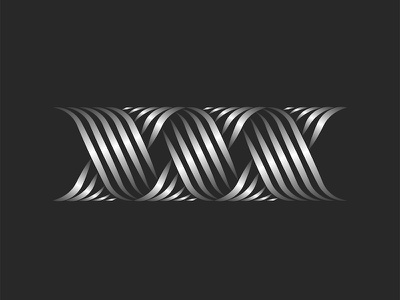 XXX monogram x letter x logo minimal vector monogram typography metallic gradient line art lineart logo design monogram design monogram logo xxx letters xxx logo xxx initials xxx