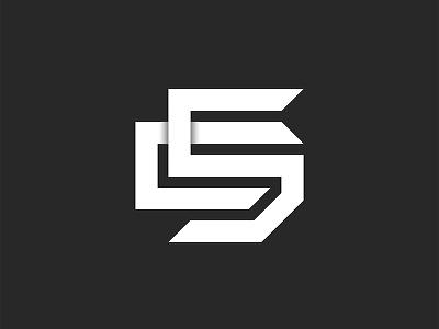 Logo CS or SC letters monogram line art simple logo design emblem c5 logo s letter c letter typography branding minimal minimalist logo letters logo monogram monogram logo sc logo cs logo