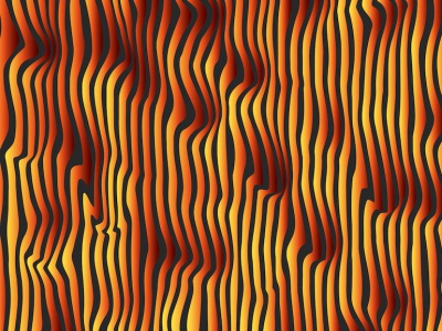 Lush lava background screensaver distort vertical lines linear minimal vector shape gradient color curves illustration yellow backdrop wallpaper lava lush background design background lush lava