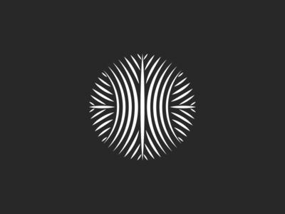 Circle Logo Pattern emblem