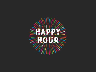 Happy Hour promotion banner