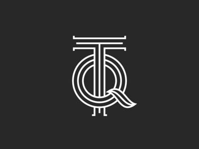 TQ letters monogram