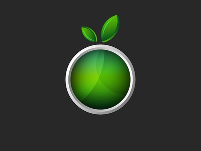 Green apple icon design