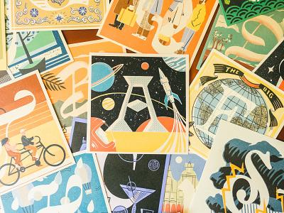 36 Days of Type - Prints & Books alphabet typography matchbox vintage books prints letters lettering illustration