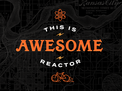 This Is Awesome kansas city map city atom bolt reactor bike awesome