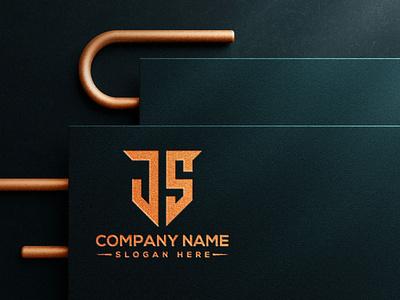 Monogram letter logo design