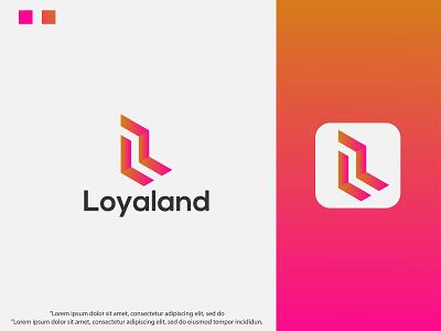 Modern L letter logo design