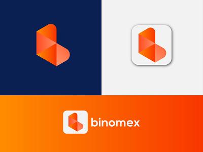 Modern abstract mark b letter logo design, Brand design adobe illustrator