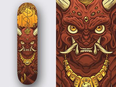 Oni Skateboard Deck