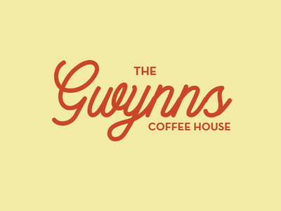 Coffee House Brand typography designer design illustration branding agency branding and identity branding