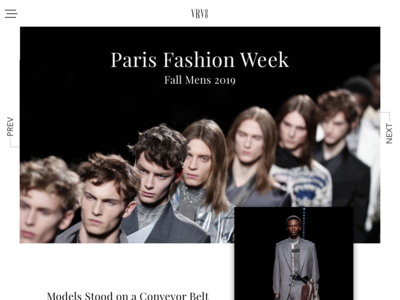 Paris Fashion Week fashion blog concept