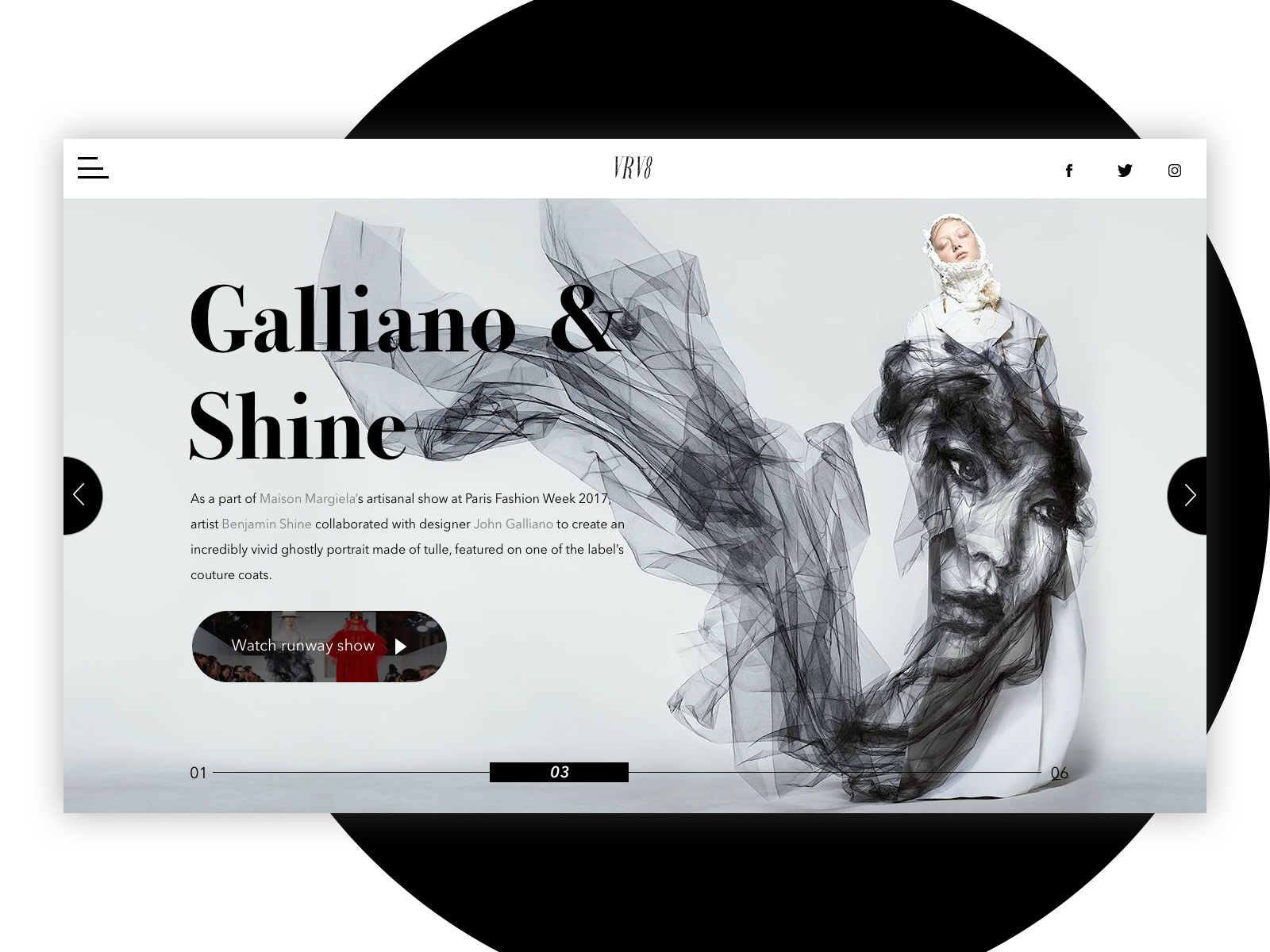 official photos 307f2 538ff Margiela's Galliano x Benjamin Shine concept by Andy Kim on ...