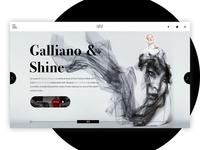 Margiela's Galliano x Benjamin Shine concept