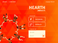Login to my hearth – fronpage