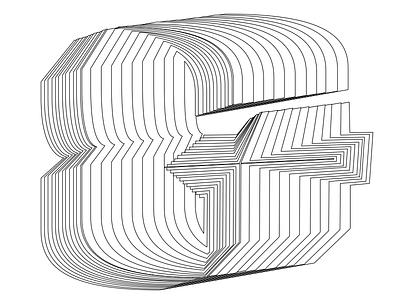 Ampersand psychadelic lettering ampersand skeleton type design design calligraphy
