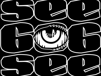 eye is watching you 666 satan calligraphy lettering type design skeleton type skeleton type design