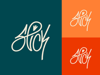 Slick - Type Logo color variations