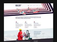 Delta Crewing - Web Design