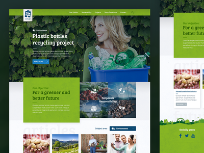 CSR Microsite for Lidl Romania