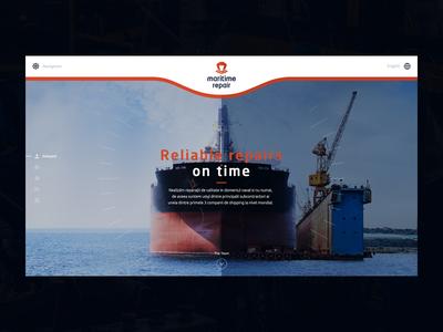Maritime Repair Webdesign