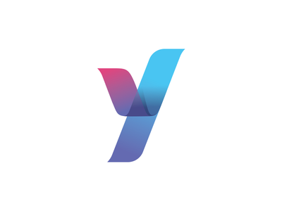Y Logo Element y mark abstract colors vivid logo