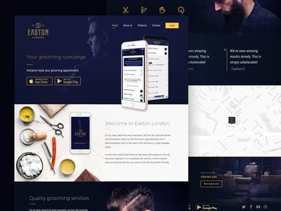 Easton London - Website Design