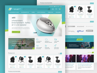AudioVision Store - eCommerce Website redesign
