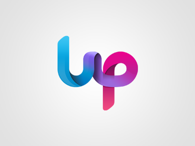 WIP Logo Element - UP logo identity colors