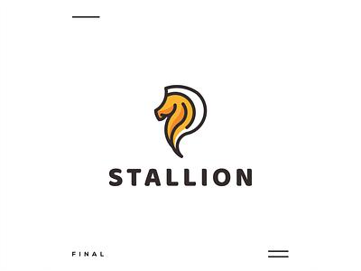 Stallion simple modern initial logo logo grid apparel animal horse stallion motion graphics 3d ui logo illustration grid graphic design design company brand logo branding animation