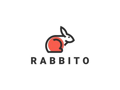 Rabbit logo art apparel logo new icon modern logo simple logo logo mark line rabbit motion graphics ui logo illustration grid graphic design design company brand logo branding animation