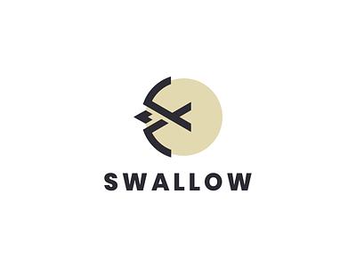 swallow logo modern logo mark symbol icon simple logo animal bird swallow motion graphics 3d animation ui illustration grid branding brand logo company graphic design design logo