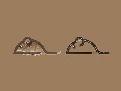 Mouse logo mouse symbol logo mark flat logo icon simple logo modern initials motion graphics 3d ui grid illustration animation branding brand logo company design graphic design logo