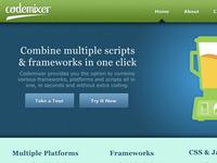 Codemixer Website Draft