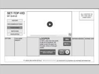 Interface for set-top box video product
