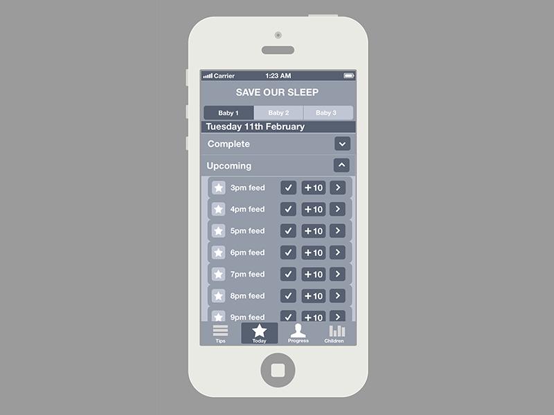 Save Our Sleep  sketch app