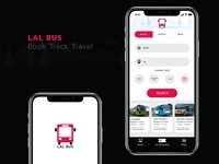LAL BUS iPhone APP Design