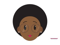 Girl With A Fro