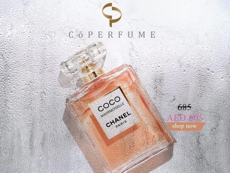 coperfume   coco mademoiselle fragrances dubai u.a.e امارات دبي عطور عطر chanel offer sale coperfume perfume fasion graphic design