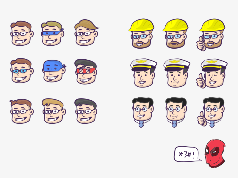 Captain Stent characters