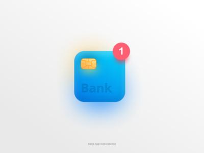 Bank App - Icon Concept