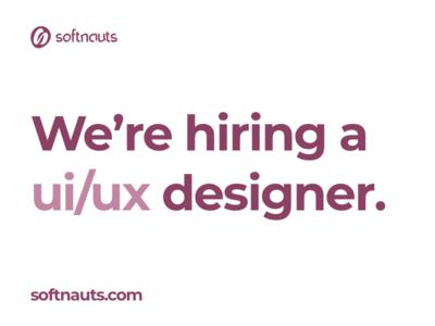 Softnauts is hiring!